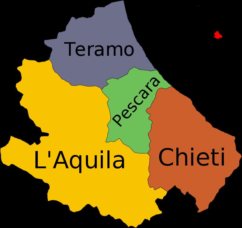 Abruzzo_provinces