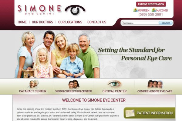 Simone Eye Center