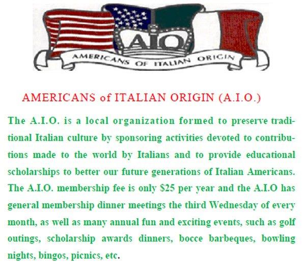 Americans of Italian Origin