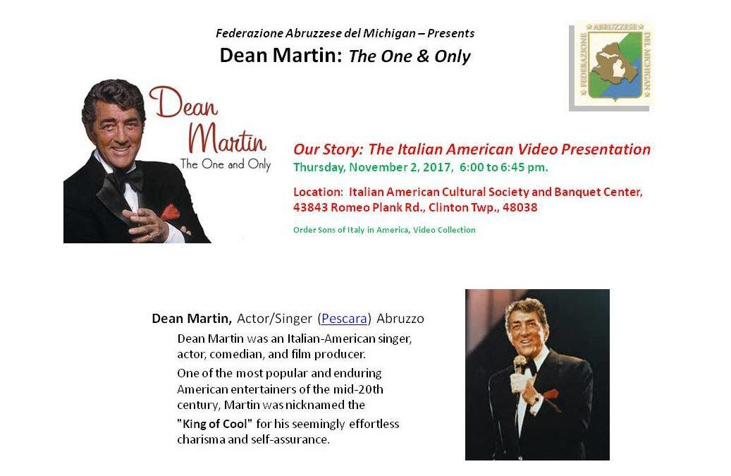 Dean Martin Video