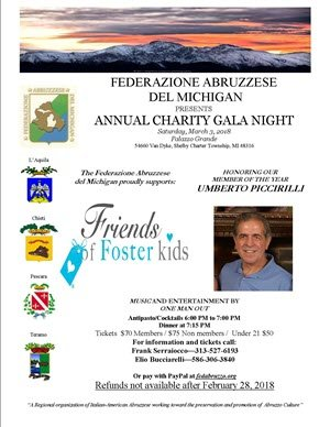 Annual Charity Gala Night