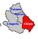 Chietii map
