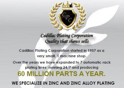 Cadillac Plating