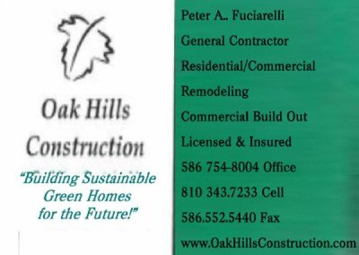 Oak Hills Construction