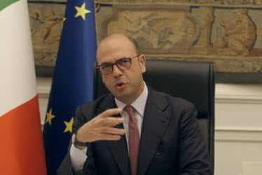 Minister of the Exterior Alfano