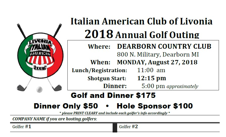 St. Louis Center Golf Outing