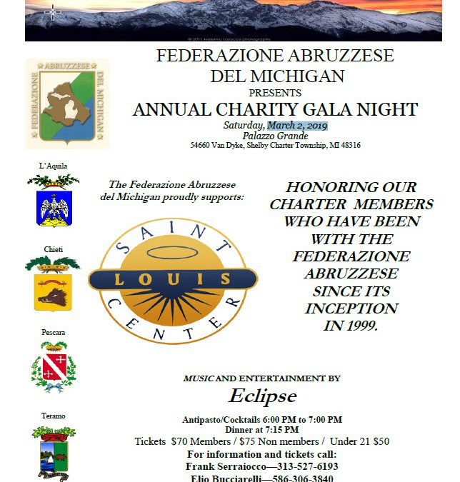 Annual Charity Gala Night 2019