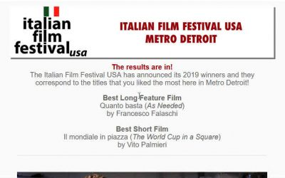This Years Results of the Italian Film Festival