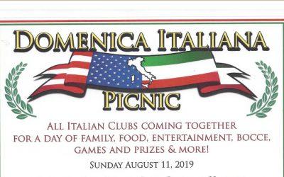 Domenica Italiana Picnic