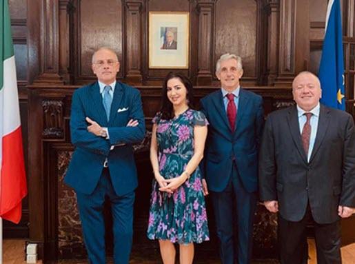 L'ON. LA MARCA (PD) A TORONTO E A MONTRÉAL CON IL DIRETTORE GENERALE DEGLI ITALIANI ALL'ESTERO, MINISTRO VIGNALI