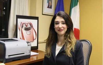 Maria Manca Console d'Italia a Detroit