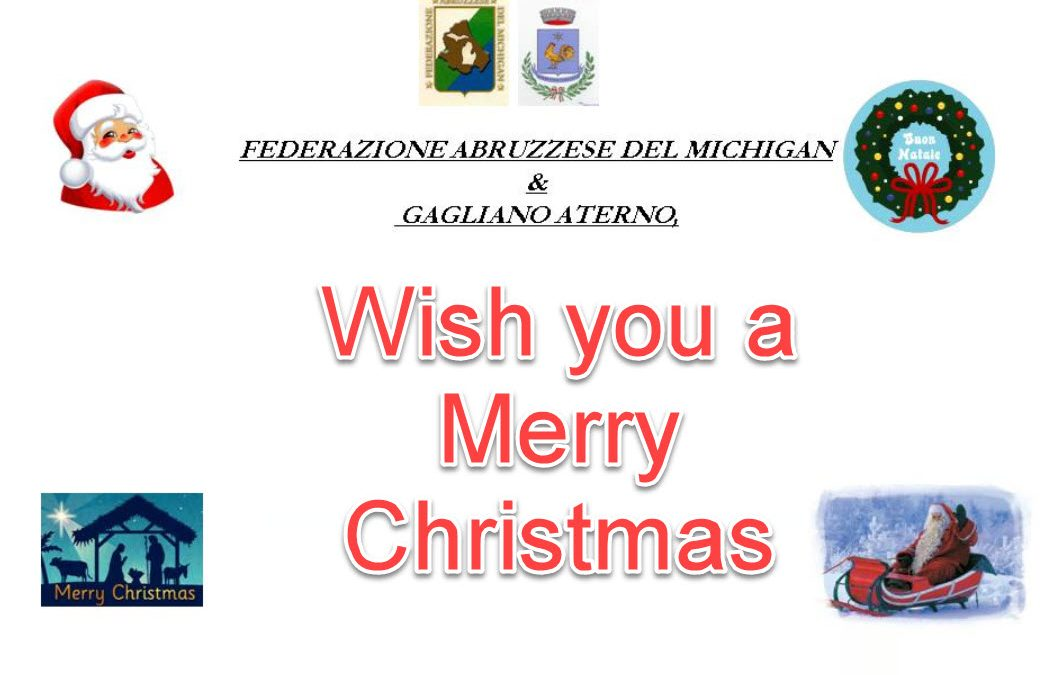 An Abruzzesi Christmas Party